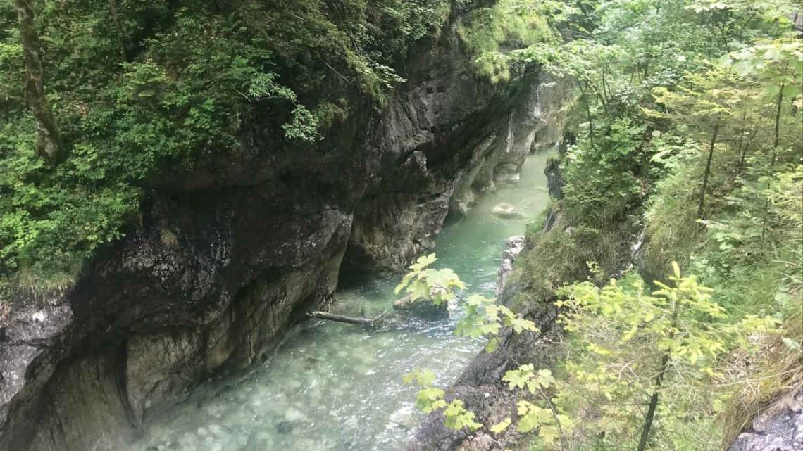 Die Kaiserklamm in Tirol