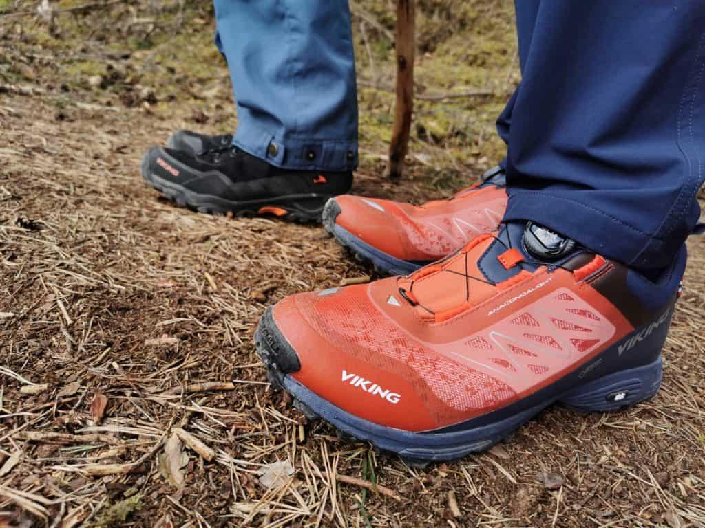 Gute Wanderschuhe sind Pflicht in der Klamm - wir setzen auf VIKING Wanderschuhe aus Norwegen