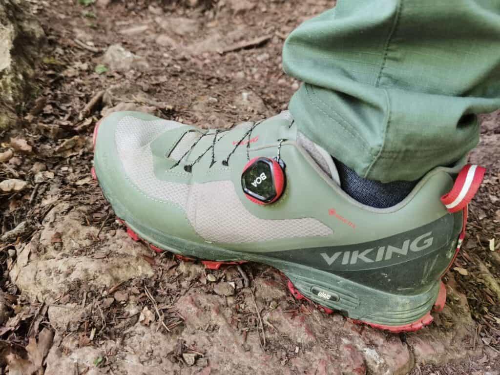 Gute Wanderschuhe sind Pflicht in der Klamm - wir setzen seit Jahren auf VIKING Wanderschuhe aus Norwegen